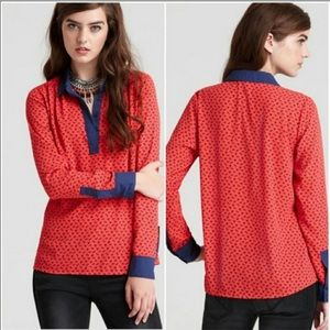 Free People Horse Blouse
